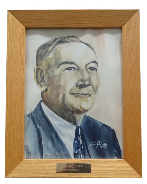 1937 1940 Alfred F. Lyons - Ville de Thurso