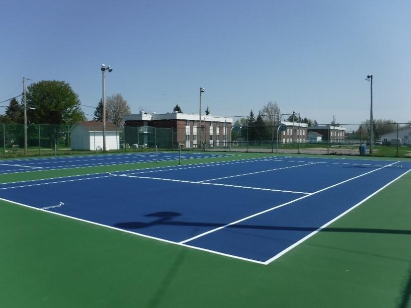 image terrains tennis - Ville de Thurso
