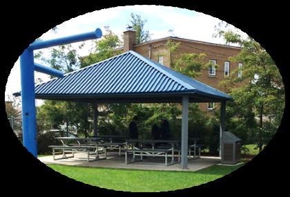 parc Michel Giroux aire de repos - Ville de Thurso