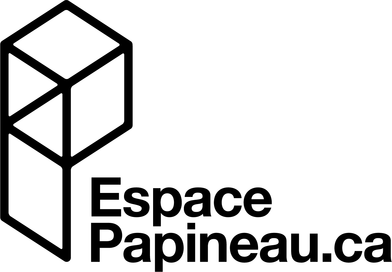 LOGO EspacePapineau noir - Ville de Thurso