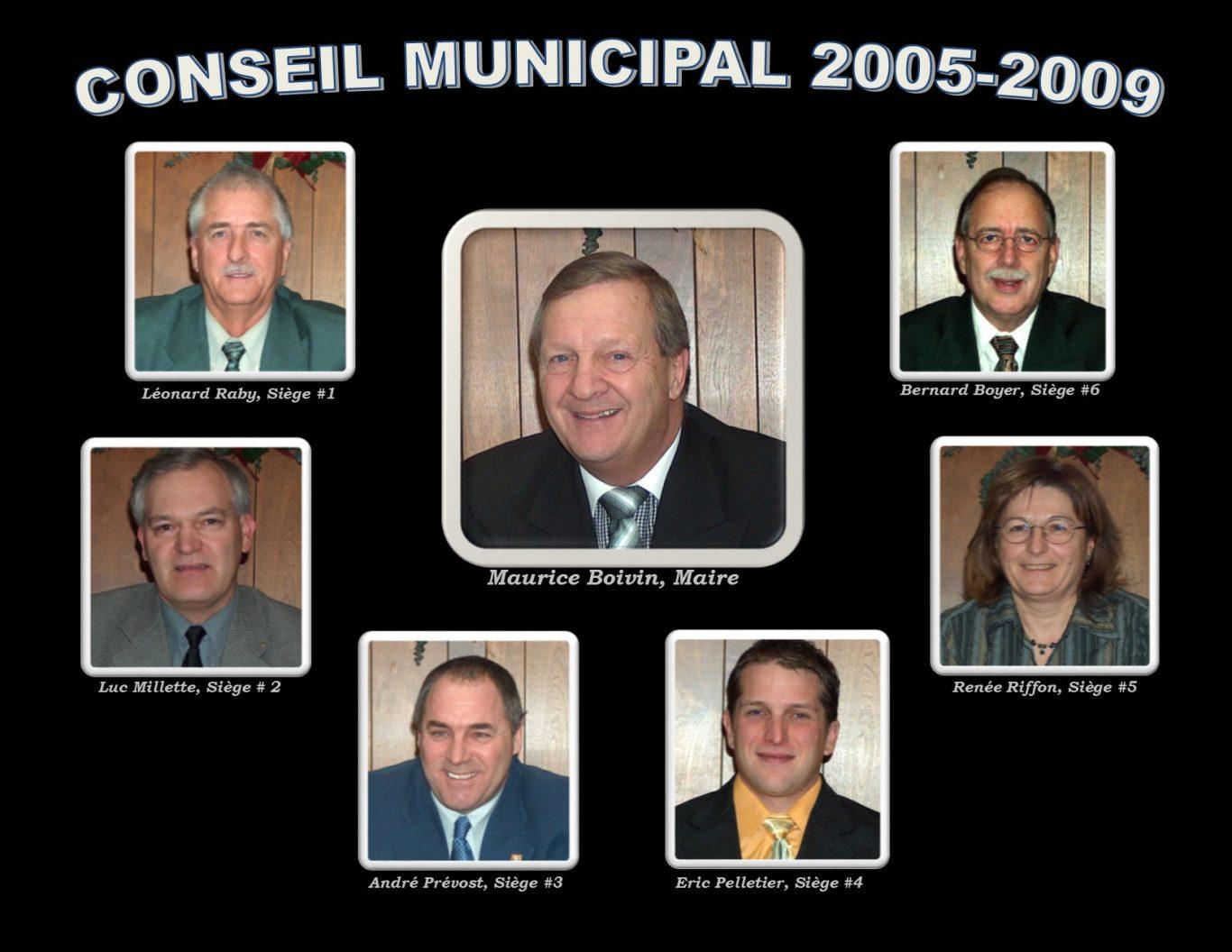conseil municipal 2005 2009 - Ville de Thurso