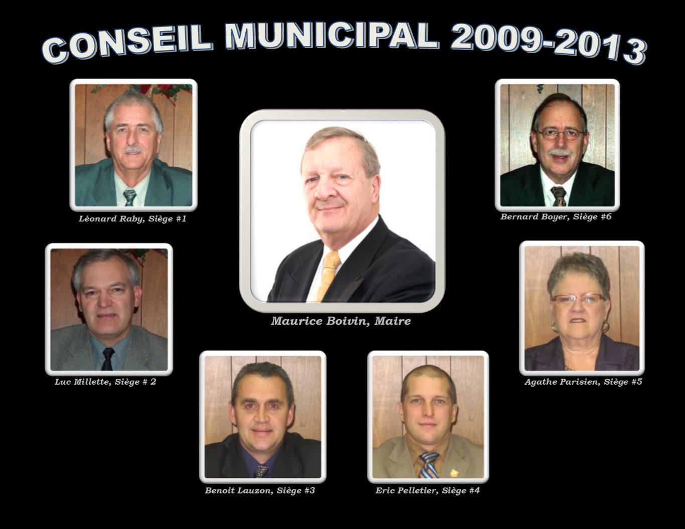 conseil municipal 2009 2013 - Ville de Thurso